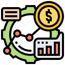 graph, growth, profit, success, up icon