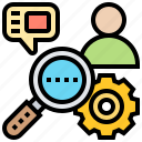 analysis, human, management, organization, resource icon