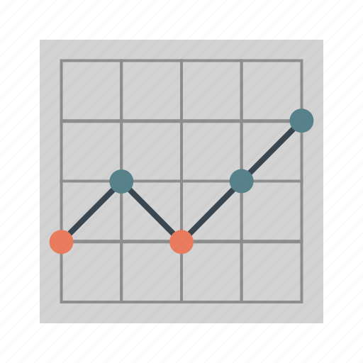 bussines, chart, map, point, statistic, stock, table icon