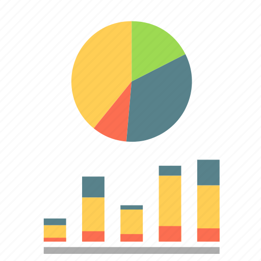 bussines, company, finance, graphs, statistics, stocks icon
