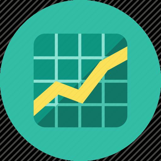 3, graph icon