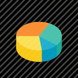analytics, chart, diagram, graph, pie icon