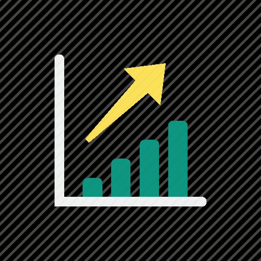 graph, increase icon