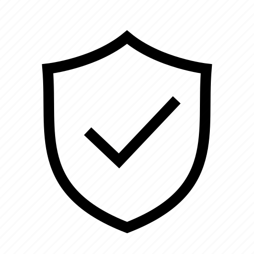 protected, secure, security, shield, ui icon