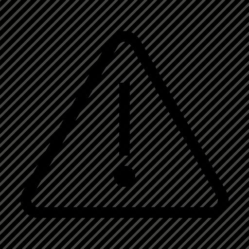 error, feedback, sign, ui, warning icon