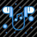 ear, handfree, music, phone