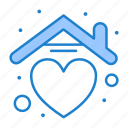2, heart, home, house, love, valentine
