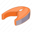 food, meat, slice icon