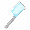 big, kitchen, knife, utensil icon
