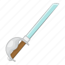 cutlass, military, sword, weapon icon