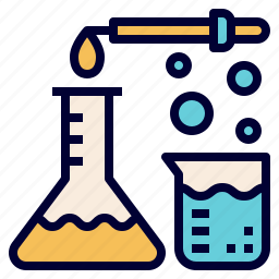 beaker, chemistry, expreiment, flask, laboratory, science, test icon