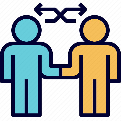 agree, business, collaboration, deal, exchange, join, partner icon