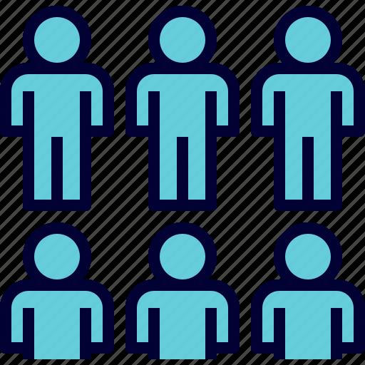 Stem Science Technology Engineering Math: Group, Mass, Members, People, Team, Teamwork Icon