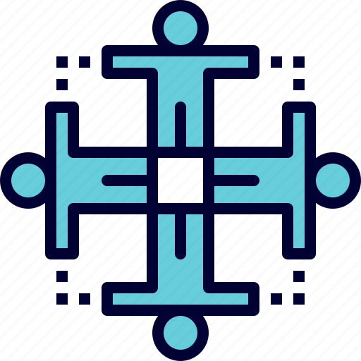 group, performance, teamwork, unity icon