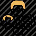 broker, dealer, offer, property, salesman icon