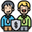 agreement, business, cooperation, shareholder, trust icon
