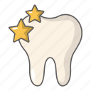 anatomy, care, cartoon, cavity, clean, object, tooth icon
