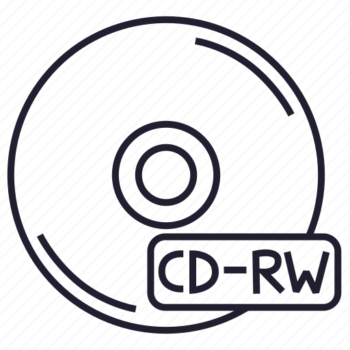 cd, cd-rw, compact disk, data, disk, memory, storage icon