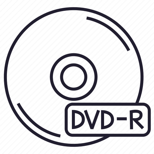 data, disk, dvd, dvd-r, information, memory, storage icon