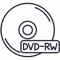 disk, download, dvd, dvd-rw, file, memory, storage icon