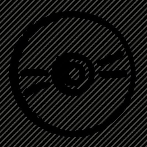 computer, data, disc, media, optical, save, storage icon