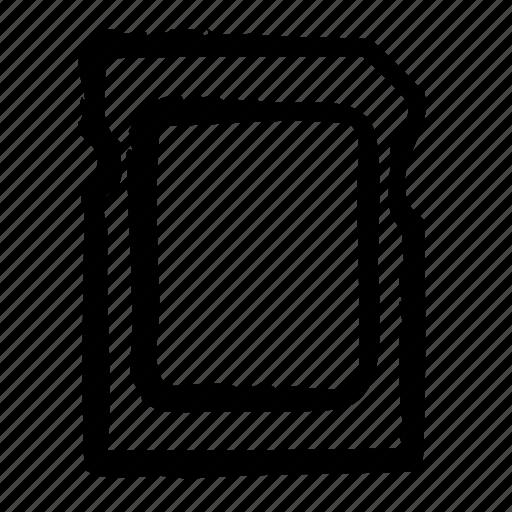card, computer, data, media, save, sd, storage icon