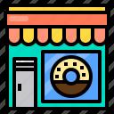 donut, food, restaurant, shop, store
