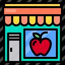 shop, fruit, market, shopping, store icon