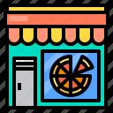 food, pizza, restaurant, shop, store