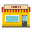 bake, baker, bakery, facade, object, shop