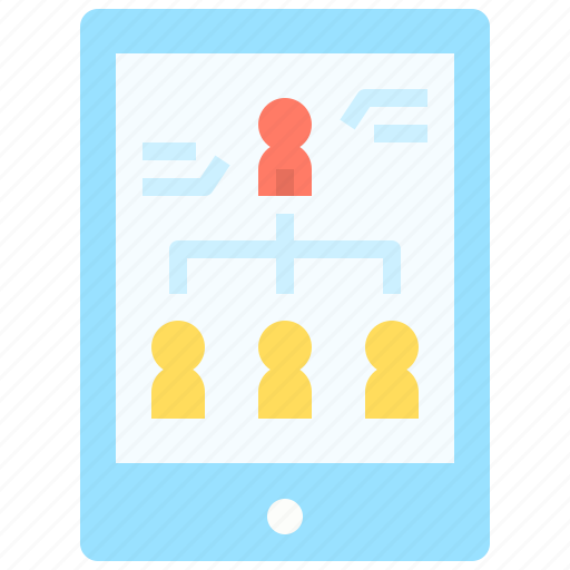 Business, connection, group, link, network, team icon - Download on Iconfinder