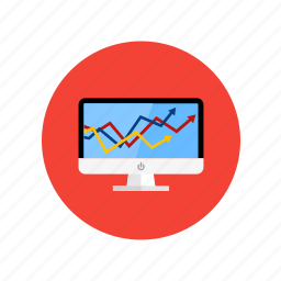 analytics, analyze, graphic, strategy icon