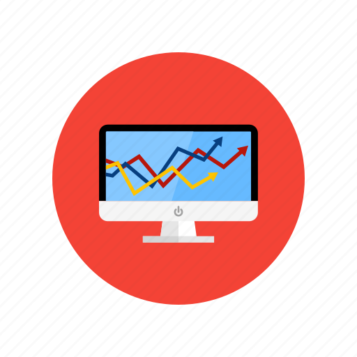 analytics, analyze, graphic, strategy icon