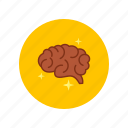brain, generator, genius, ideas, intellect, strategy icon