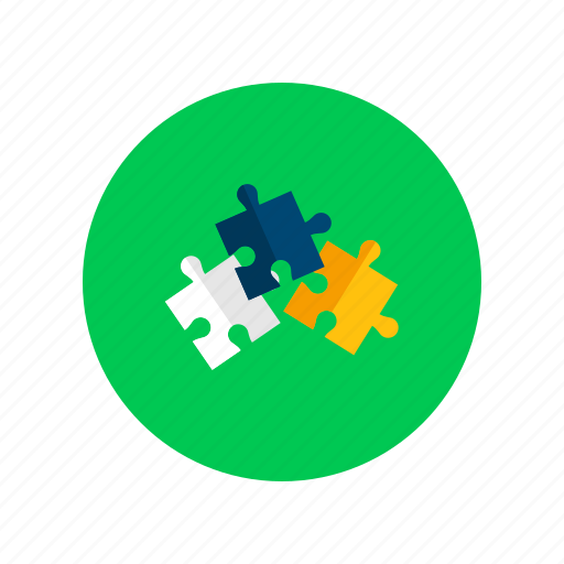adjustment, agreement, ara, colored, puzzles, solving, strategy icon