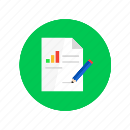 analyze, conclusion, graphic, research, statistics, strategy icon