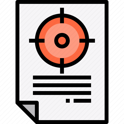 business, business plan, marketing, strategy, target icon