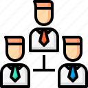 business, business plan, marketing, network, strategy icon