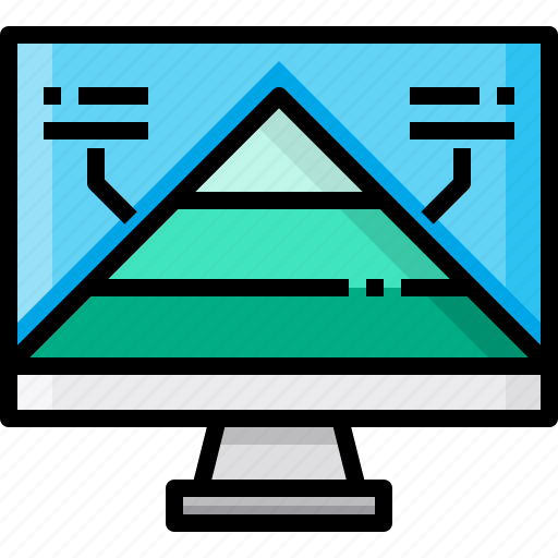 business, business plan, marketing, pyramid, strategy icon