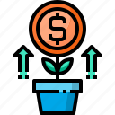 business, business plan, growth, marketing, strategy icon
