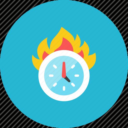 burn, time icon