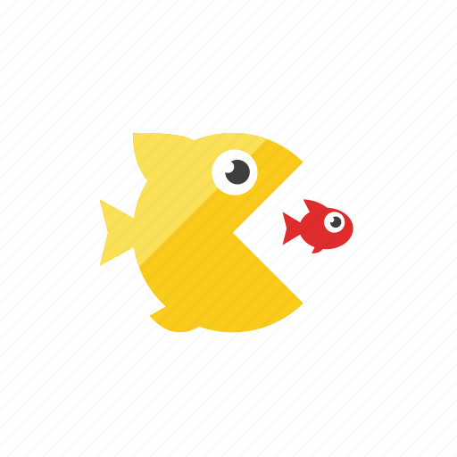 fish, predator icon