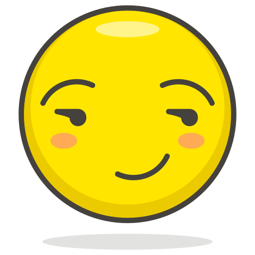 Smirking, face icon - Free download on Iconfinder