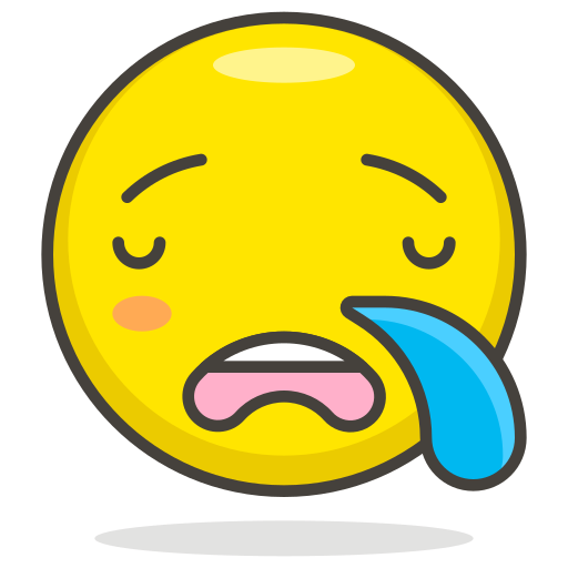 Sleepy, face icon