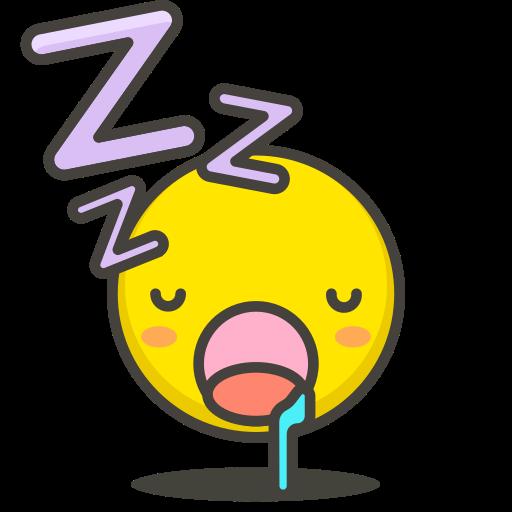 face, sleeping icon