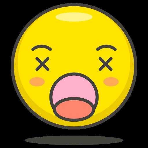 dizzy, face icon