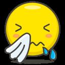 sneezing, face