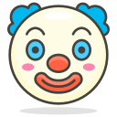 clown, face icon