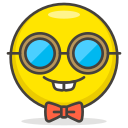 face, nerd icon