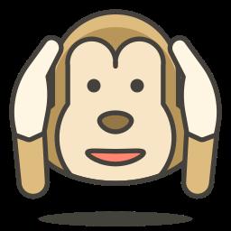 evil, hear, monkey, no icon